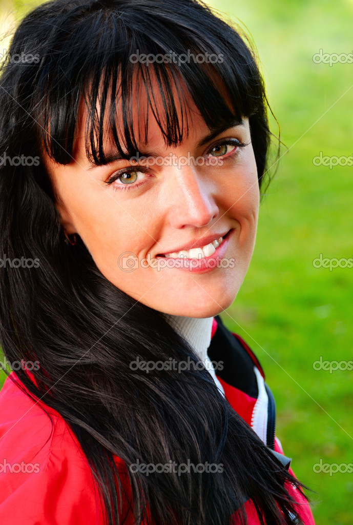 Autumn woman — Stock Photo #1124449