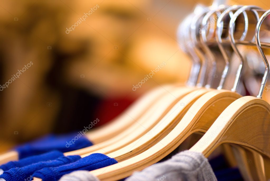 Clothes hanger  Stock Photo #1124549