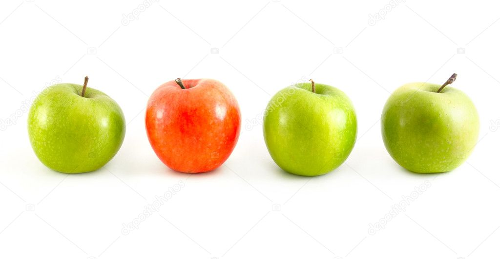 Different apples — Stock Photo #1124840