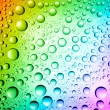 Multicolored drops — Stock Photo