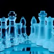 Chess team — Stock Photo