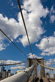 Ponte de Brooklyn — Fotografia Stock