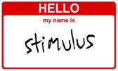 Name stimulus — Stock Photo