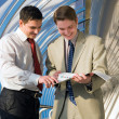 Business young men — Stock Photo