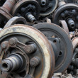 Scrap metal - Foto Stock
