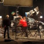 In a film studio — Stock Photo