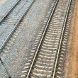 Royalty-Free Stock Photo: Railroad track