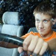 The young driver — Stock Photo #1114445