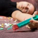 Drugs abuse — Stock Photo