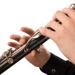 Clarinet player — Stock Photo #1114518