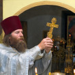 The Russian orthodox priest — Stock Photo