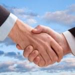 Business handshake — Stock Photo #1119337
