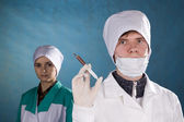 Medical workers. — Stock Photo