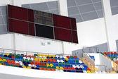 Interior of stadium — Foto Stock