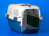 Carrier for pets — Stock Photo