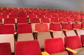 Seats of auditorium — Stock Photo