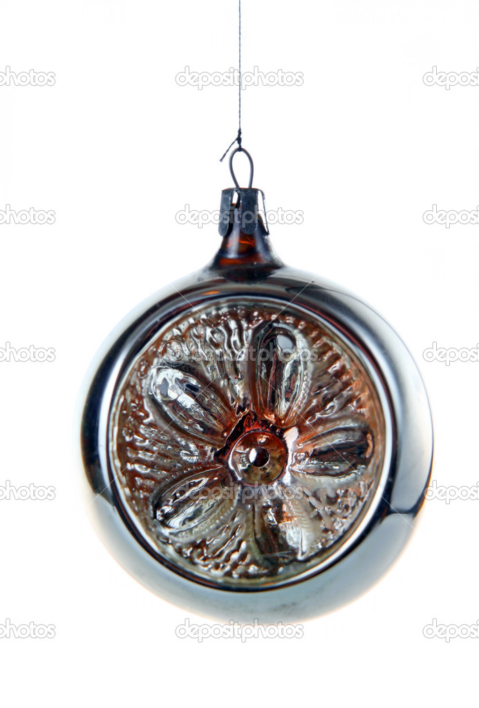 Christmas ornament isolated on a white background — Stock Photo #1116769