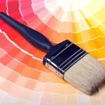 Nuanciers peinture colorée — Photo