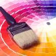Colorful Paint Color Swatches — Stock Photo #1120715