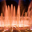 Shining fountain - Stock Photo