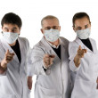 Royalty-Free Stock Photo: Three doctors.
