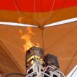 Burner On Hot Air Balloon — Stock Photo