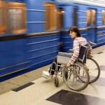 Woman in wheelchair — Stock Photo #1122673