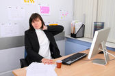 Employee of office — Stock Photo