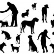Dog Silhouette - 
