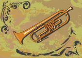 Trumpet — Stock Vector