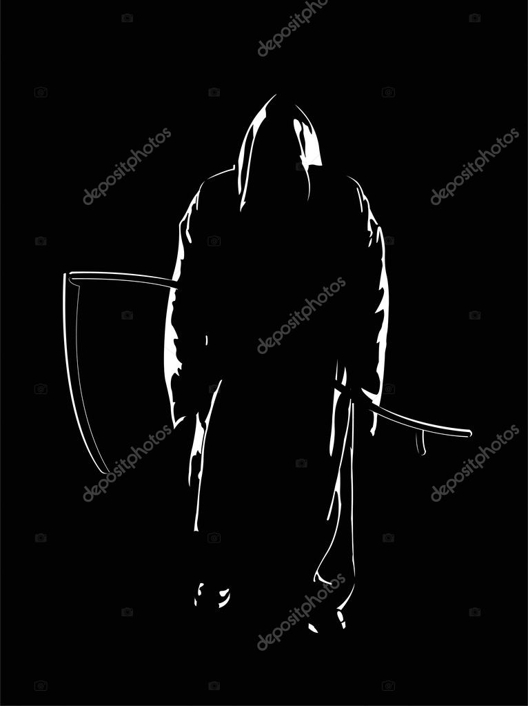 The vector image of the reaper of souls — Stock Vector #1193906
