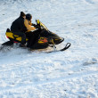 Stock Photo: Snowmobile