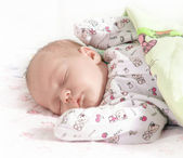 Sleeping Baby — Stock Photo
