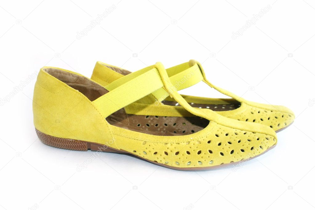 Female footwear  on a white background — Stock Photo #1194713