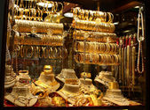 Jewelry store in Grand Bazar — Stock Photo