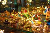 Souvenir porcelain figurines — Stock Photo