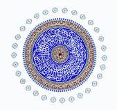 Mesquita, ornamentos orientais — Foto Stock