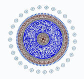 Mosque, oriental ornaments — 图库照片