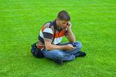 Man on the phone — Stock Photo