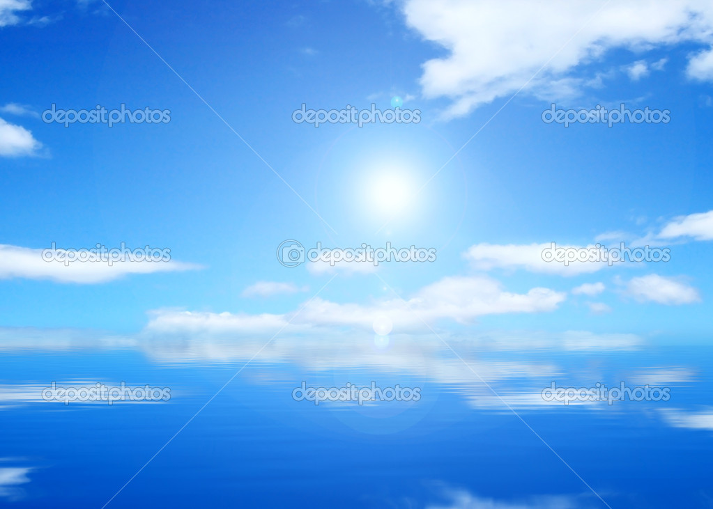 SANNY sky background  Stock Photo #1226495