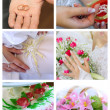 WEDDING COLLAGE — Stock Photo #1234288