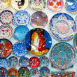 Souvenir ceramics Istanbul — Stock Photo