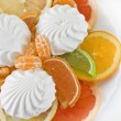 Dessert of citrus and marmalade — Stock Photo #1929348