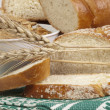 Royalty-Free Stock Photo: Bread  and ears of wheat