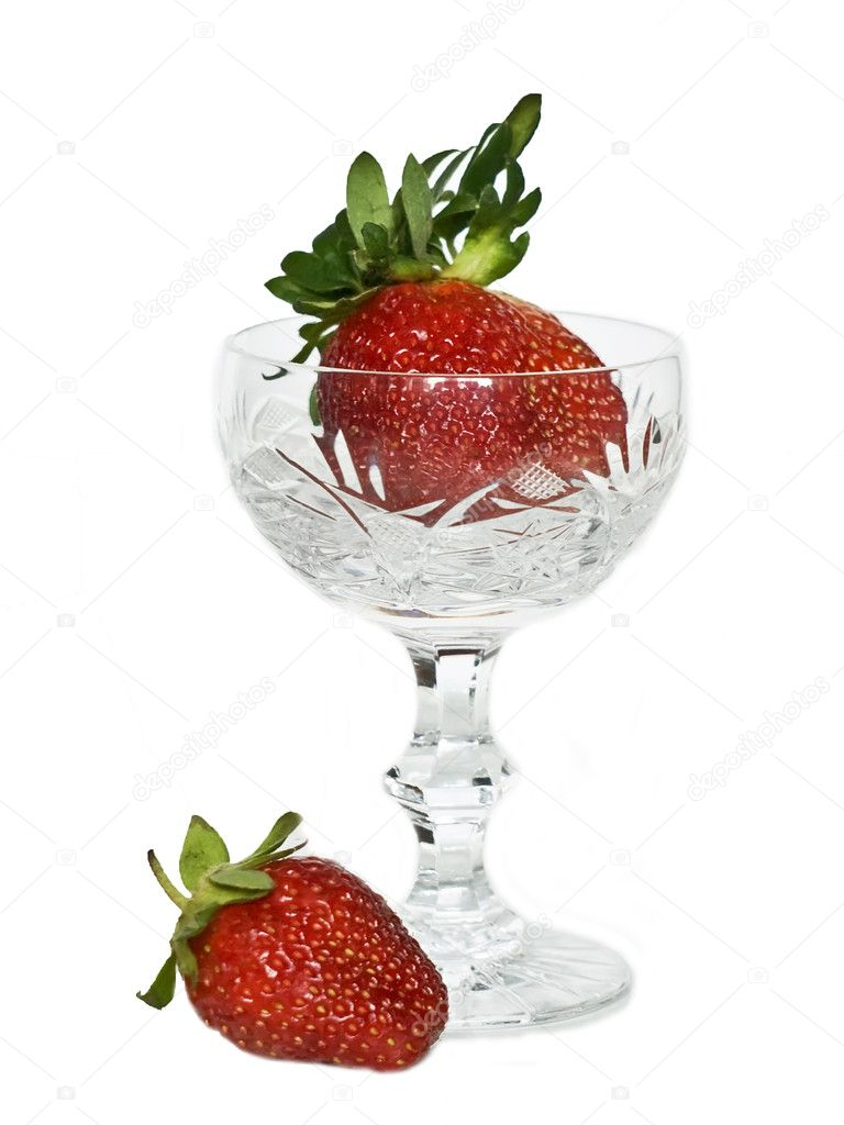 Excellent drinks and desserts from a strawberry  Stock Photo #1123789
