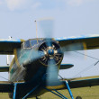 Stock Photo: The An-2 biplane