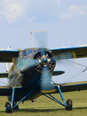 The An-2 biplane — Stock Photo