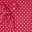 Red tricot  fabric — Stock Photo