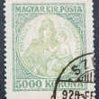 Royalty-Free Stock Photo: Vintage stamp depicting Virgin Mary
