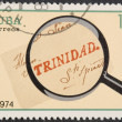 Royalty-Free Stock Photo: Vintage stamp depicting  old letter
